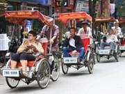 Hanoi : forte hausse du nombre de touristes étrangers
