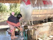 Poursuite du programme sur l'eau potable