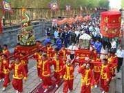 Présentation du culte des rois Hung à l'Unesco