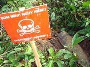 Aide australienne aux victimes de bombes et mines