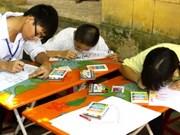 Le 1er Festival pour les malvoyants de Hanoi