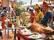 Cérémonie en hommage aux soldats tombés à Hoang Sa