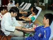 """Lancement de la campagne """"Des gouttes de sang"""" 2011"""
