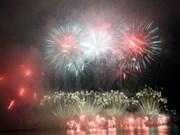 Concours de feux d'artifice de Da Nang