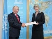 Renforcement des relations entre le Vietnam, l'UNESCO et l'OIF