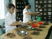 Le VN développe la médecine traditionnelle