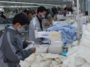 Renforcement des exportations d'articles d'habillement au Japon