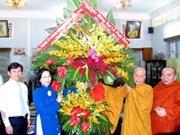 HCM-V : félicitations pour le 2555e anniversaire du Bouddha