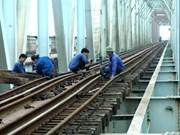 Construction de 8 ponts ferroviaires sur la ligne Nord-Sud