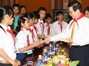 Le chef de l'Etat appelle à davantage d'intérêt pour les enfants démunis
