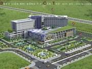 Mise en chantier d'un grand hôpital pédiatrique