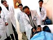 Acupuncture : le professeur Nguyen Tai Thu au Mexique