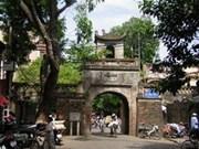Expérience d'Italie dans la préservation d'anciens quartiers
