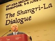 Shangri-La: Inauguration du Sommet sur la sécurité en Asie
