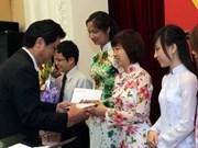 Remise de bourses Fuyo à de brillants étudiants