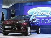 La première Ford Fiesta construite au Vietnam