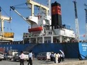 Mise en service de la compagnie portuaire Vung Ang Vietnam-Laos