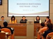 Colloque sur la coopération économique Vietnam-Italie à Milan