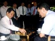 Le président de la FIDE au Vietnam
