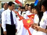 Hau Giang : inauguration de l'école internat Him Lam