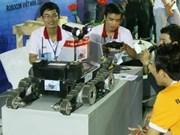 Robocon Asie-Pacifique : l'équipe vietnamienne juste avant le jour J
