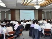 Echange d'expériences Vietnam-Rép. de Corée en matière de partenariat public-privé