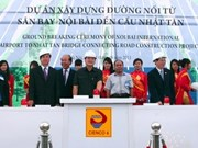 Hanoi : mise en chantier d'une route avec l'aide japonaise