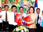 Commerce : renforcement de la coopération Vietnam-Laos