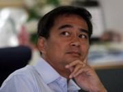 Thaïlande: Abhisit Vejjajiva réélu à la tête du Parti démocrate