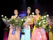 Nguyen Phuong Anh, sacrée Miss Vietnam du monde en Europe