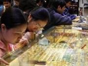 Importation de cinq tonnes d'or pour stabiliser le marché domestique