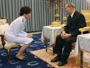 Thaïlande : le nouveau cabinet prête serment