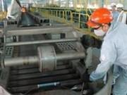 L'usine Phu My sort sa deux millionième tonne d'acier