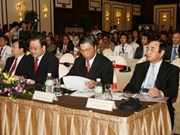 Ouverture du 16e forum des architectes d'Asie