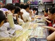 Le cours de l'or frise les 46,8 millions de dongs le taël