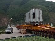 Centrale hydroélectrique de Son La : raccordement du 3e turboalternateur
