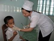 Nam Dinh : aide japonaise pour la construction d'une infirmerie