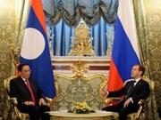 Russie et Laos établissent le partenariat stratégique