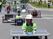 Véhicules fonctionnant à l'énergie solaire