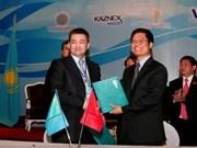 Vietnam-Kazakhstan: augmentation de coopération commerciale