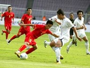 Football : trois points pour le Vietnam aux SEA Games
