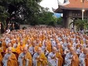 Célébration de la fondation de l'Eglise bouddhique du VN