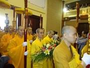 Célébration de l'anniversaire de l'Eglise bouddhique du Vietnam