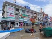 Thaïlande: les crues vont porter un coup au tourisme
