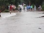 Crues : sept morts et trois disparus dans le Centre et le Tay Nguyen