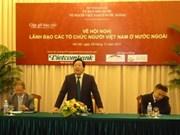 Une conférence des dirigeants d'organisations de Vietnamiens à l'étranger