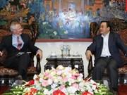 Le vice-PM Hoang Trung Hai reçoit un envoyé spécial de la BM