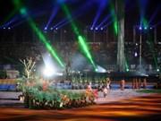 Cérémonie d'ouverture des 26es SEA Games: un banquet de lumière