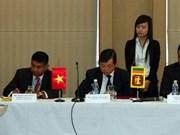 Vietnam-Sri Lanka: un milliard de dollars d'échange en 2015