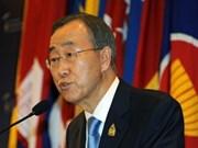 L'ONU soutient la présidence de l'ASEAN 2014 du Myanmar
